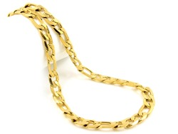 Jewelry Gold Chain. Stainless steel. One color background