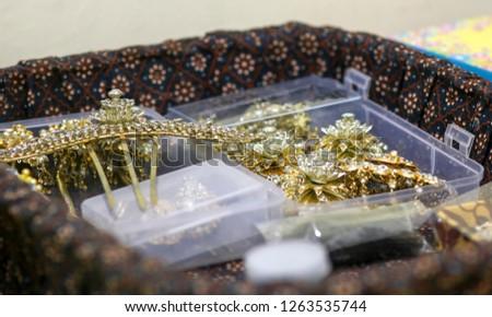 jewelry wedding accessories, javanese wedding accessories
