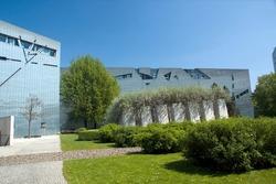 Jewish Museum in Berlin Germany.