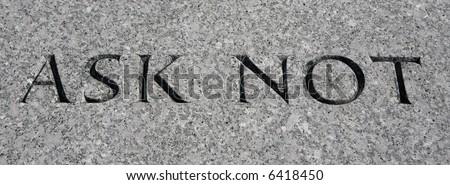 JFK memorial, Arlington Cemetery.