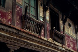 Jharokha, Historical building balcony or Oriel Window   Indian Ancient Architecture