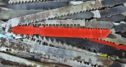 Jigsaw blades , saws for wood, for plastic and for iron