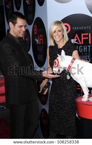 Jim Carrey and Jenny McCarthy  at AFI Night at the Movies presented by Target. Arclight Theater, Hollywood, CA. 10-01-08