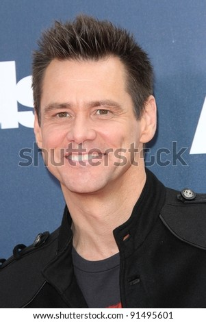 Jim Carrey at the 2011 MTV Movie Awards Arrivals, Gibson Amphitheatre, Universal City, CA. 06-05-11