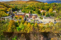 Jim Thorpe, Pennsylvania, in Autumn Colors