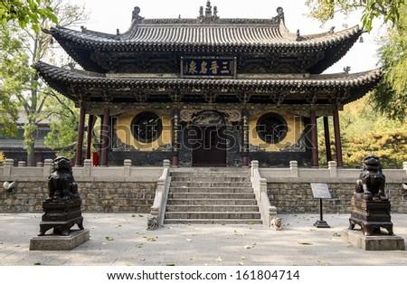 Jinci Temple in Shanxi China