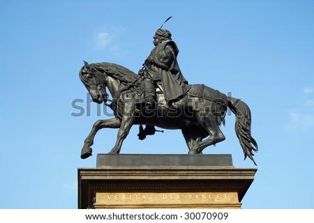 Jiri z Podebrad Statue