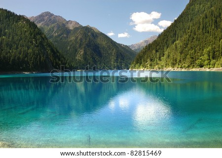 Jiuzhaigou Valley Scenic and Historic Interest Area, China
