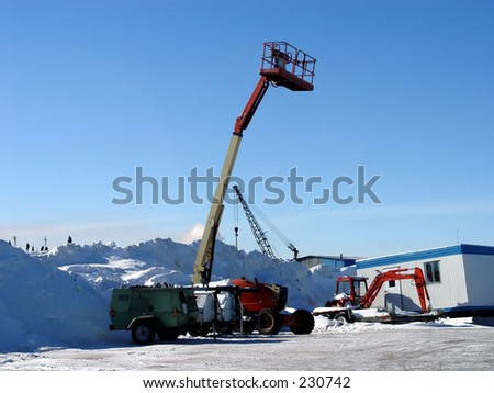 JLG Machine Lift