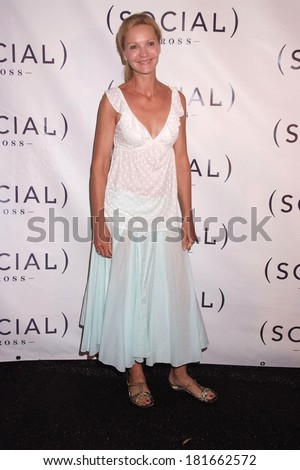 Joan Allen in attendance for HAMPTON SOCIAL Concert with Dave Matthews Band, The Ross School, East Hampton, NY, July 28, 2007