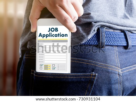 JOB Application Applicant Filling Up the Online  Profession Apply Hiring #730931104