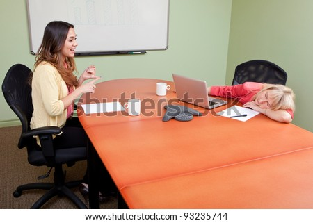 Job Interview with a chatterbox