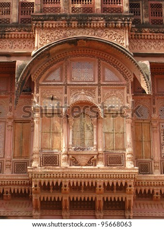 Jodhpur, India: the great Mehrangarh Fort in Jodhpur, in the heart of Rajasthan.