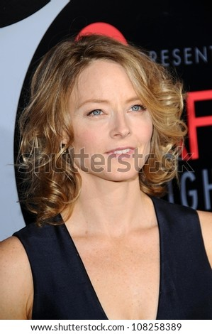 Jodie Foster  at AFI Night at the Movies presented by Target. Arclight Theater, Hollywood, CA. 10-01-08