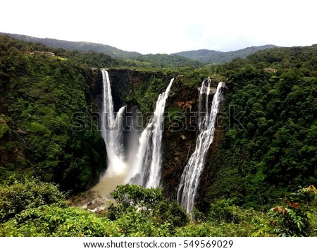 Jog Falls located in India #549569029