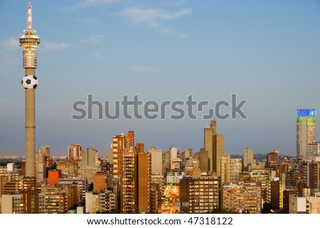 Johannesburg south africa 2010 world cup host city
