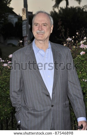 John Cleese at the champagne launch celebration for Brit Week 2008 at the British Consul General's official residence in Los Angeles April 24 2008 Los Angeles CA Picture Paul Smith Featureflash