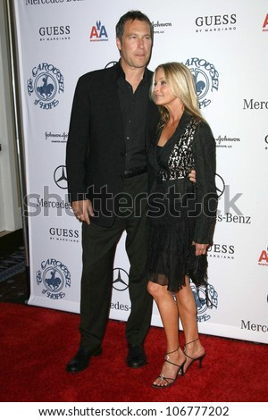 John Corbett and Bo Derek  at the 30th Annual Carousel of Hope Ball to benefit the Barbara Davis Center for Childhood Diabetes, Beverly Hilton, Beverly Hills, CA. 10-25-08