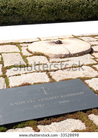 John Fitzgerald Kennedy grave site