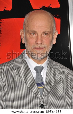 "John Malkovich at the premiere of his new movie ""Red"" at Grauman's Chinese Theatre, Hollywood. October 11, 2010  Los Angeles, CA Picture: Paul Smith / Featureflash"