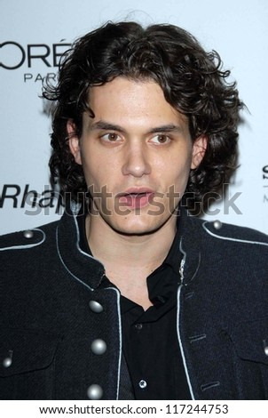 John Mayer at the 2007 Clive Davis Pre-Grammy Awards Party. Beverly Hilton Hotel, Beverly Hills, CA. 02-10-07
