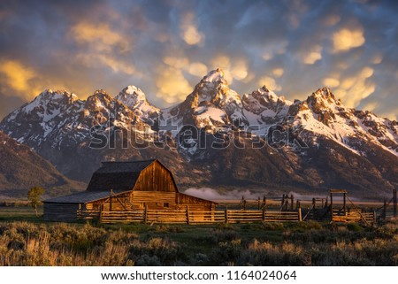 John Moulton Barn, Grand Teton National Park