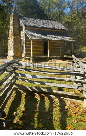 John Oliver Cabin, Cades Cove, Great Smoky Mountains National Park, Tennessee