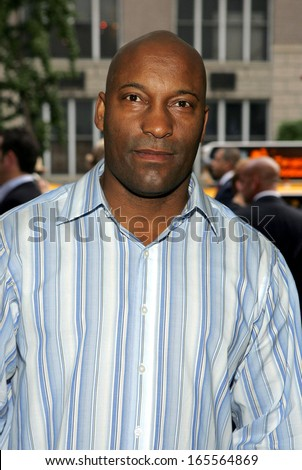 John Singleton at WORLD PREMIERE of Paramount Pictures FOUR BROTHERS, Clearview's Chelsea West Cinemas, New York, NY, August 09, 2005  - stock photo