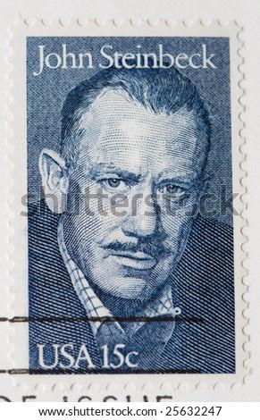 John Steinbeck Postage Stamp