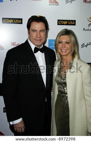 John Travolta and Olivia Newton John. The Australia Weeks G'Day USA Gala held at the Kodak Theatre in Hollywood - 19 January 2008. Compulsory Credit: Entertainment Press