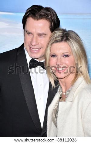 John Travolta & Olivia Newton-John at the G'Day USA Australia.com Black Tie Gala at the Hollywood & Highland Centre, Hollywood, CA. January 19, 2008  Los Angeles, CA Picture: Paul Smith / Featureflash