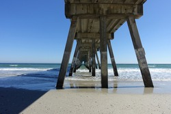 Johnnie Mercers Fishing Pier at Wrightsville Beach just Outside of Wilmington,North Carolina