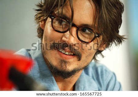 Johnny Depp at Corpse Bride Press Conference at Toronto Film Festival Sutton Place Hotel Toronto ON September 10 2005