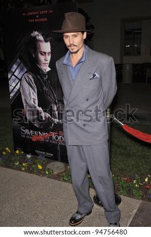 Johnny Depp at industry screening of his movie \