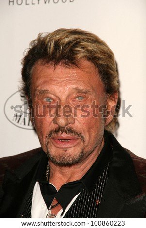 Johnny Hallyday  at the 6th Annual Pink Party, W Hotel, Hollywood, CA. 09-25-10