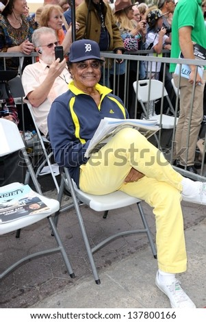Johnny Mathis at the Tom Kelly Star on the Hollywood Walk of Fame, Hollywood, CA 04-30-13