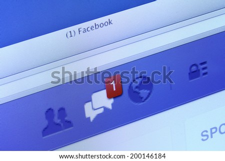 how to turn facebook message notifications on compute