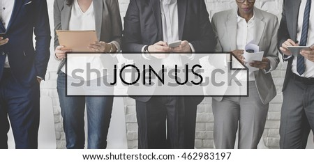 Join Us Apply Company Hiring Join Recruitment Concept