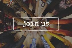 Join Us Team Recruitment Register Membership Hiring Concept