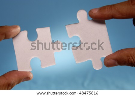 Joining two Jigsaw puzzle pieces