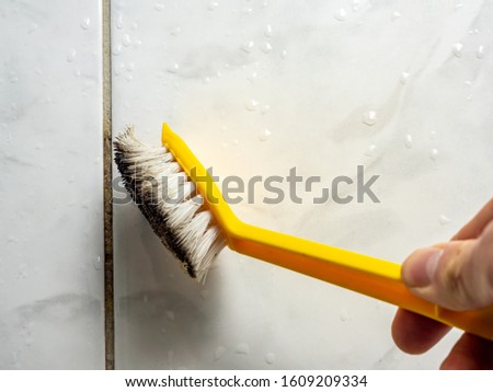 Joint mold is cleaned Background