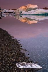 Jokulsarlon glacial lagoon, Iceland, Europe