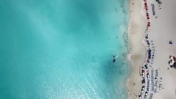 Jolly Beach Antigua from above