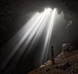 Jomblang cave on the Java island