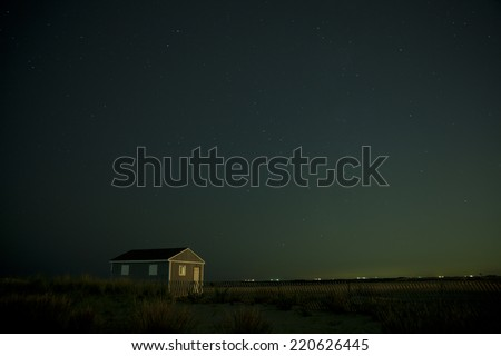 Jones Beach West End 2 with night stars