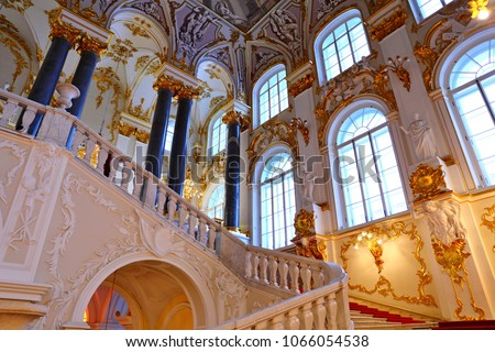 Jordan Staircase of the Winter Palace  #1066054538