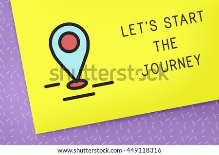 Journey Trip Travel Discover Explore Concept