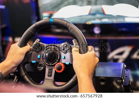 Joy games driving gamer.Driving accessories for games.