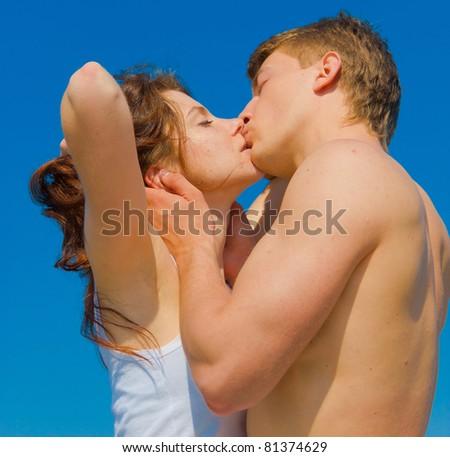 Joy Honeymoon Kissing