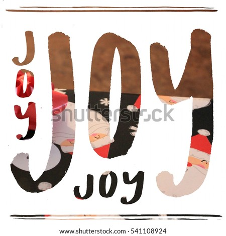joy joy joy holiday overlay  #541108924